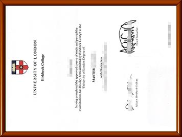 BBK毕业证购买