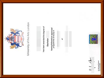 UAL毕业证办理