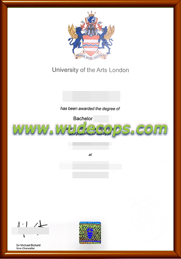 伦敦艺术大学毕业证购买