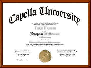 卡佩拉大学文凭购买