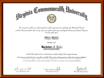VCU毕业证办理