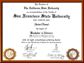 SFSU文凭购买