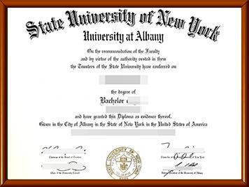 办理UAlbany毕业证