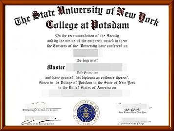 SUNY Potsdam毕业证办理
