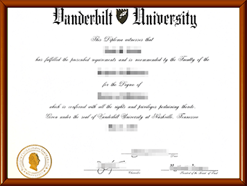 Vandy毕业证购买