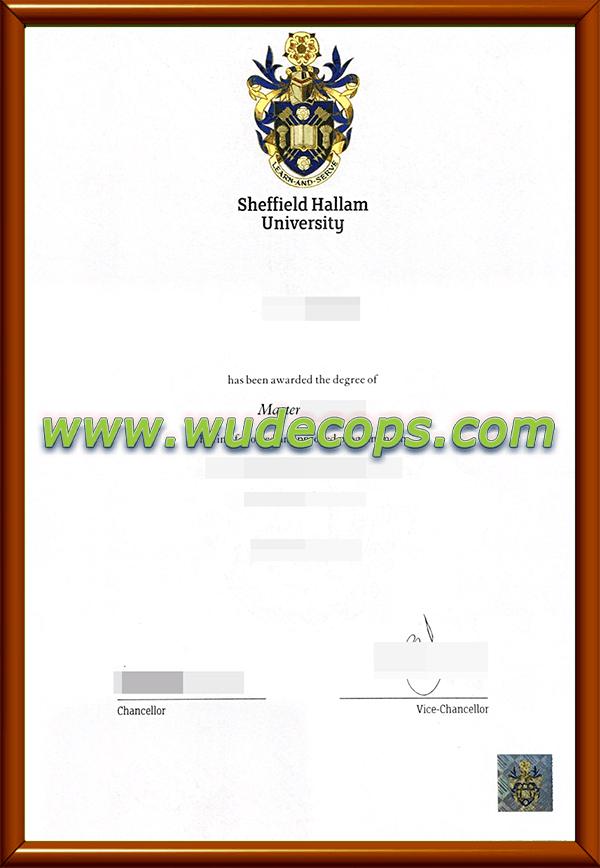 谢菲尔德哈勒姆大学毕业证购买