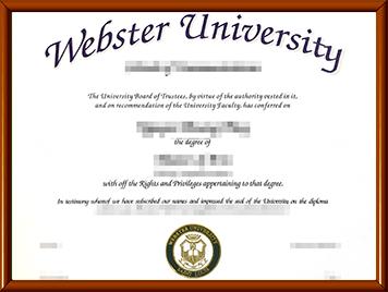韦伯斯特大学毕业证办理