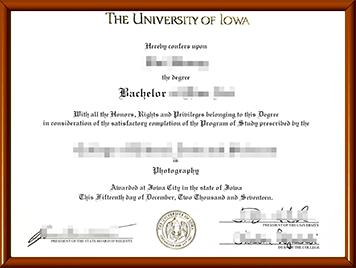 爱荷华大学毕业证办理