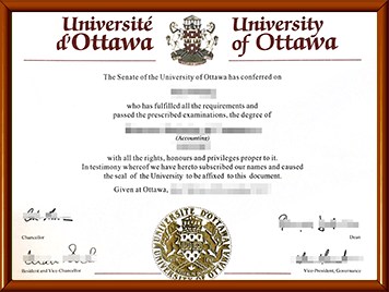 uOttawa毕业证办理