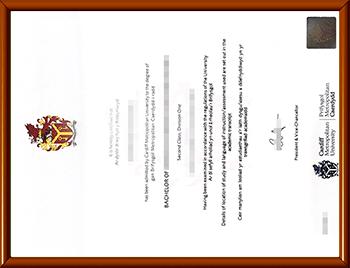 卡迪夫城市大学文凭购买
