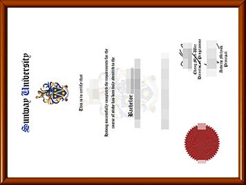 办理双威大学毕业证