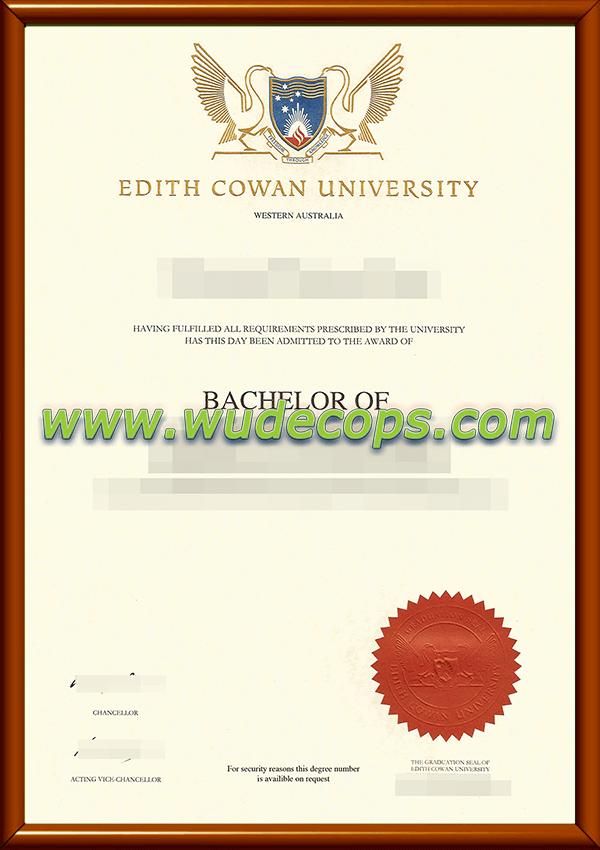 埃迪斯科文大学毕业证购买