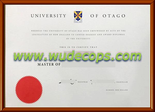 奥塔哥大学毕业证购买