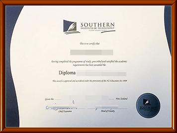 办理新西兰南方理工学院毕业证
