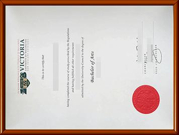 VUW毕业证购买