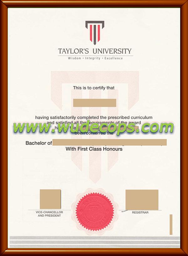 泰莱大学毕业证购买