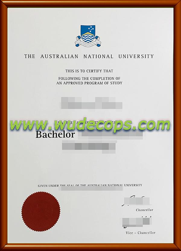 澳洲国立大学毕业证购买
