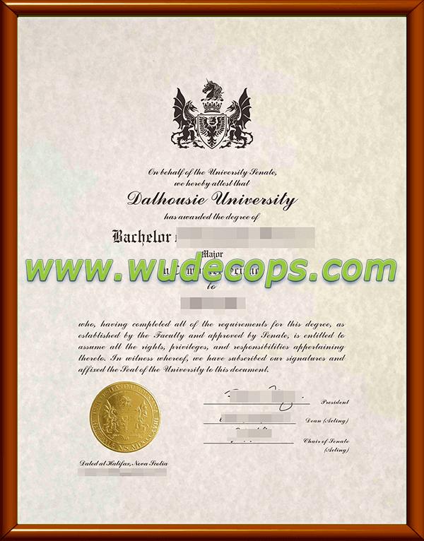 达尔豪斯大学毕业证购买