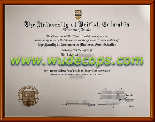 购买UBC毕业证