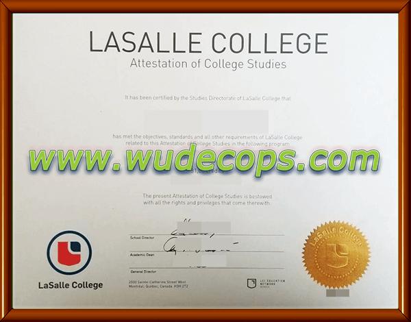 拉萨尔学院毕业证购买