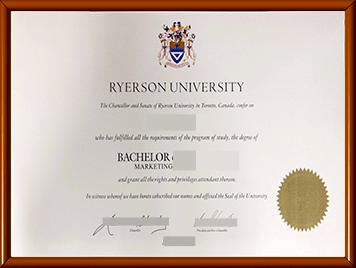 瑞尔森大学毕业证办理