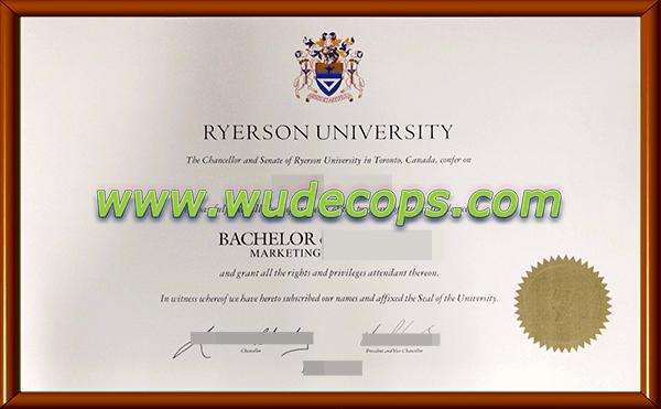 瑞尔森大学毕业证购买