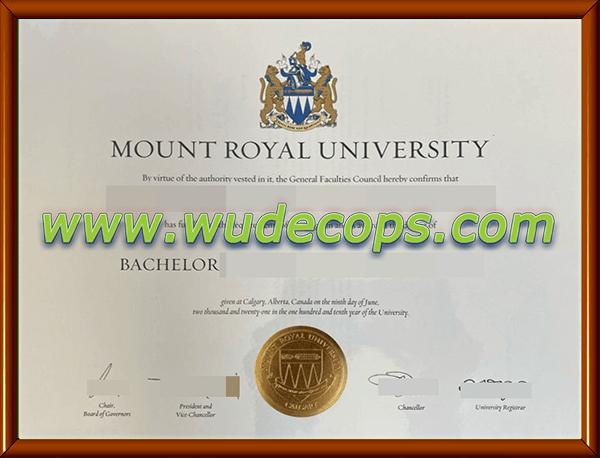 皇家山大学毕业证购买